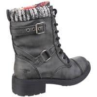 Rocket Dog Thunder Ladies Long Boots Black